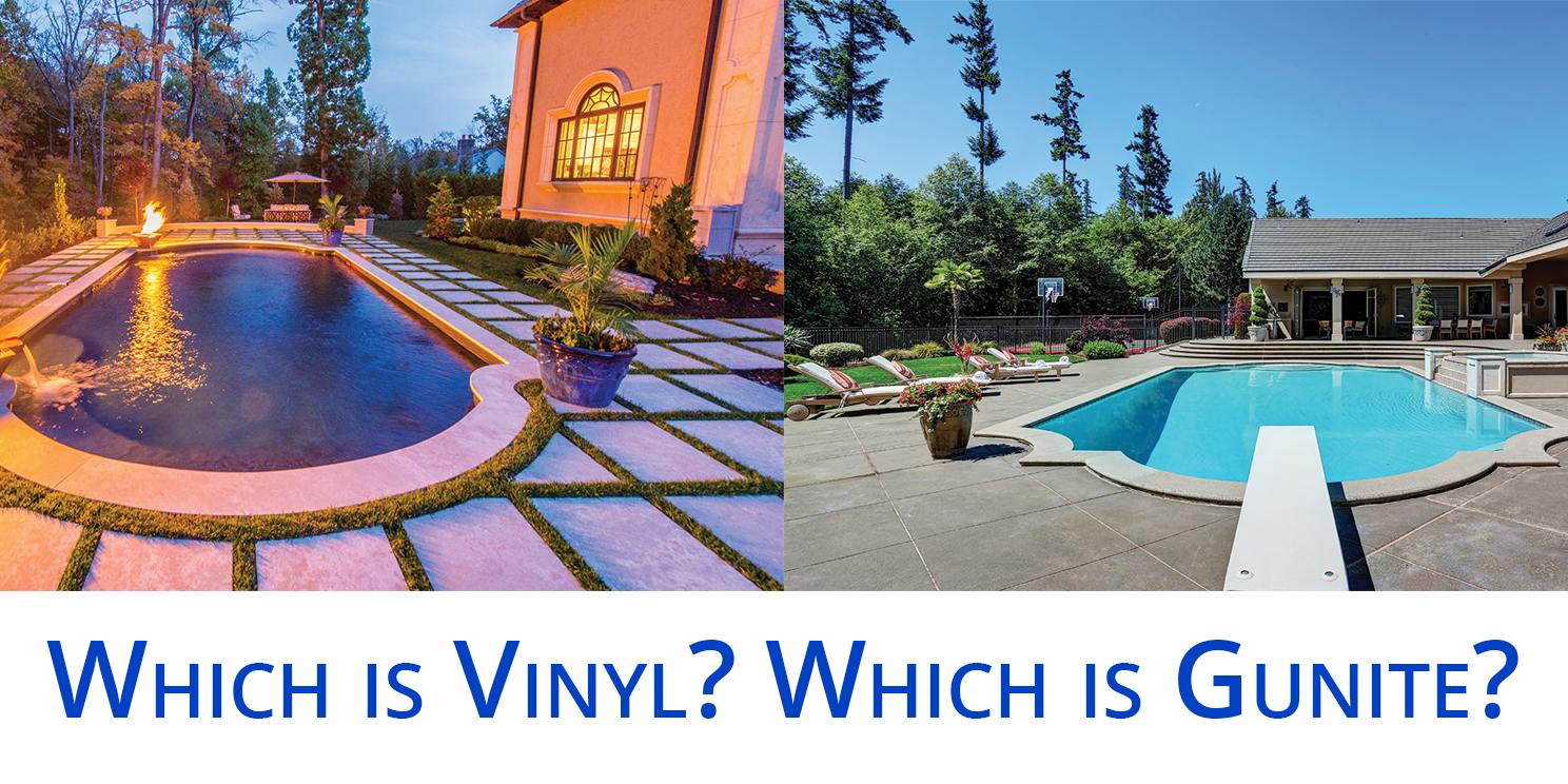 Which is better gunite concrete or vinyl liner pools for Pool design education