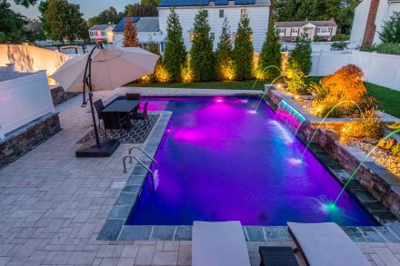 Fairfield, NJ built by The Pool Boss, #1 in New Jersey for Affordable, Luxury Pool Construction