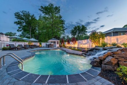 Washington Township, NJ built by The Pool Boss, #1 in New Jersey for Affordable, Luxury Pool Construction