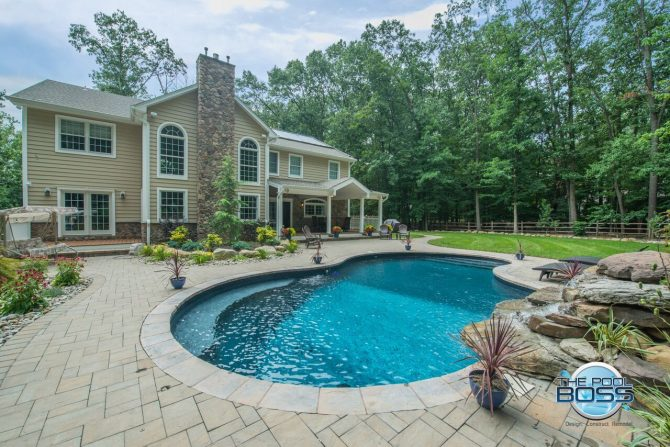 Mahwah, NJ built by The Pool Boss, #1 in New Jersey for Affordable, Luxury Pool Construction