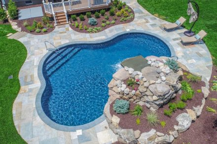 Totowa, NJ built by The Pool Boss, #1 in New Jersey for Affordable, Luxury Pool Construction